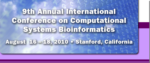 9th Annual International Conference on Computational 					Systems Bioinformatics